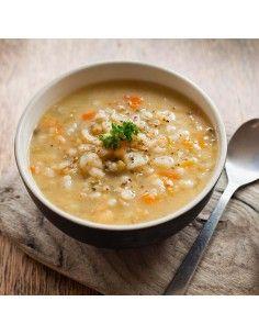 Zuppa di Orzo e Cereali